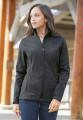 EDDIE BAUER ® SHADED CROSSHATCH SOFT SHELL LADIES' JACKET