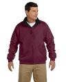 Harriton® Adult Fleece-Lined Nylon Jacket
