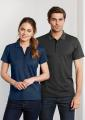 Ladies Shadow Tonal Cotton-Rich Polo