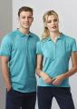 Ladies Coast 100% Cotton Comfort Polo