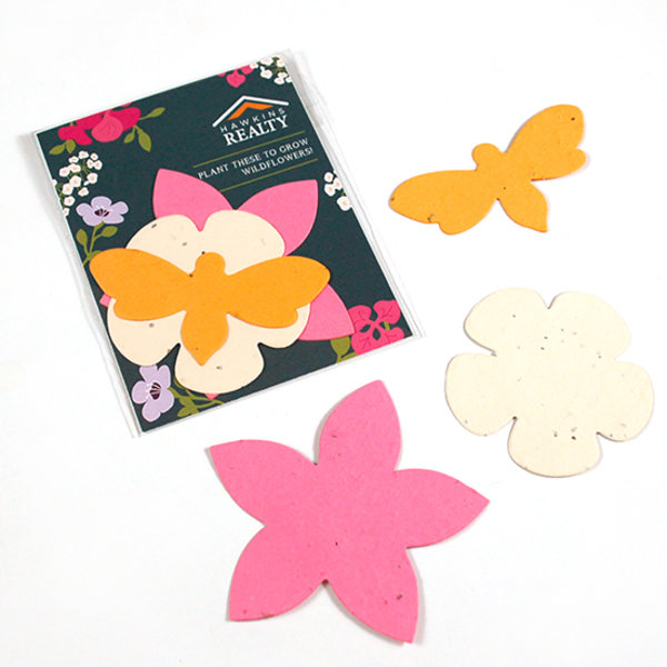 Wildflower Seed Paper Shape Pack Concept Plus